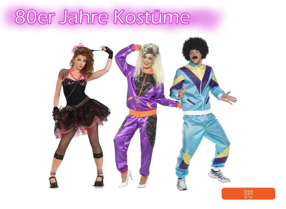 80er Jahre Kostüme