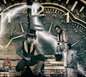 Steampunk Mottoparty