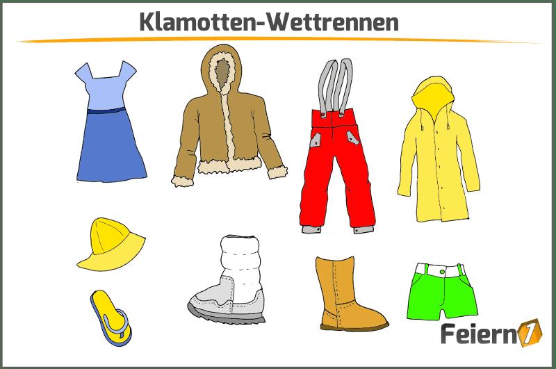 Klamotten-Wettrennen