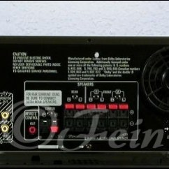 Pioneer Stereo Receiver Test Interconnected Smoke Alarms Wiring Diagram Uk Technics Sa-gx 370 Dolby Surround Av-receiver