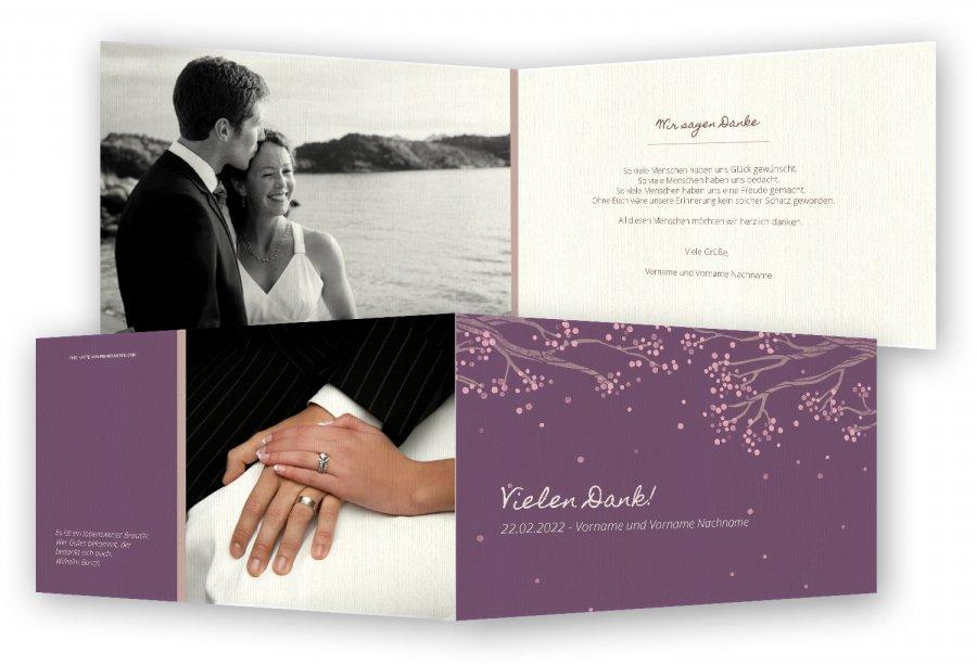 Danksagung Hochzeit Vorlagen Kostenlos