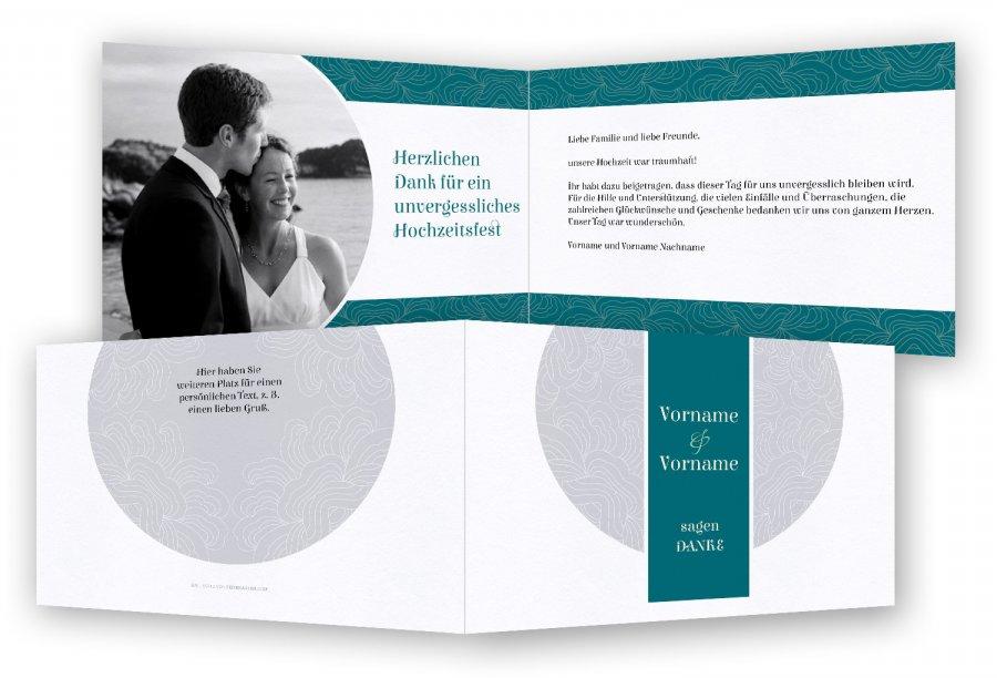 Hochzeit Vorlagen Danksagungen  Feinekartencom
