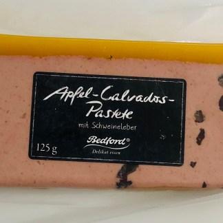 Apfel-Calvados-Pastete