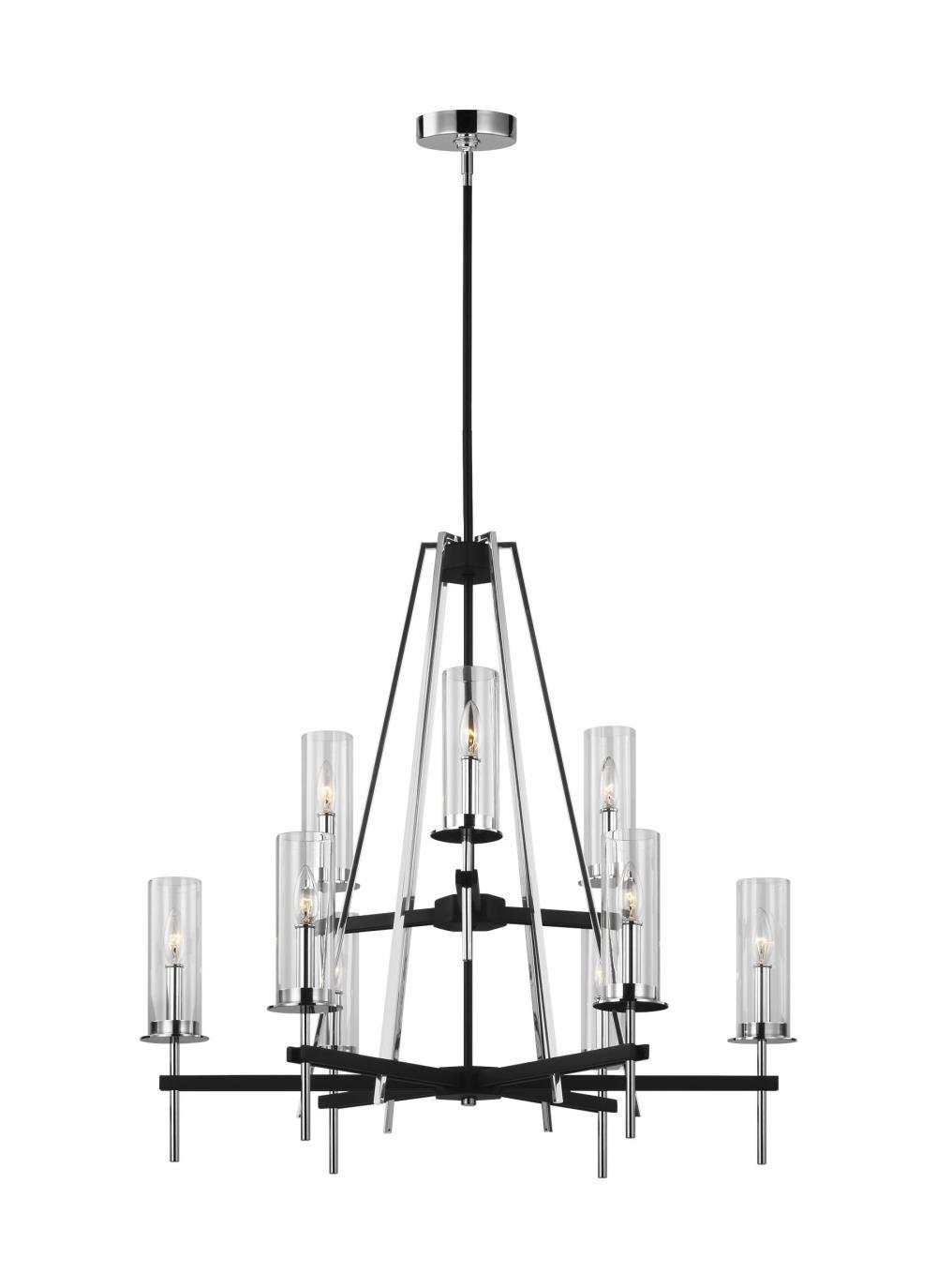 medium resolution of 9 light chandelier
