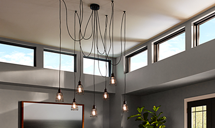 Multi Port Canopies Lighting Collection from Feiss