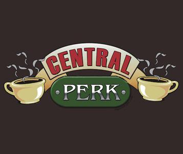 Friends Central Perk tshirt  Friends Central Perk Cafe tee