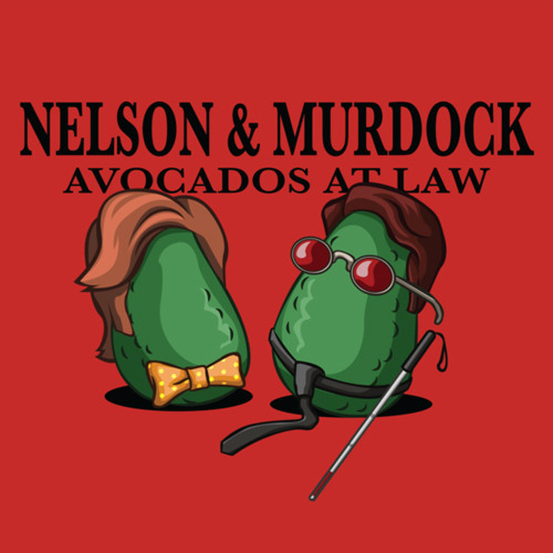 avocados daredevil t shirt