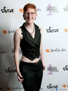 Taylor Posing at the Feminist Porn Awards 2014