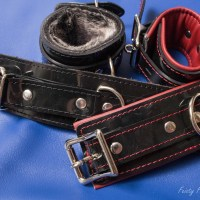 Kink Roundup- Vegan Cuffs, Hello Touch X, and Buck Dich
