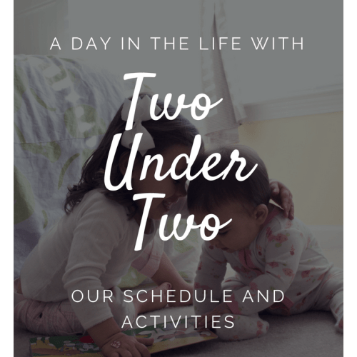 A Day In The Life With Two Under Two