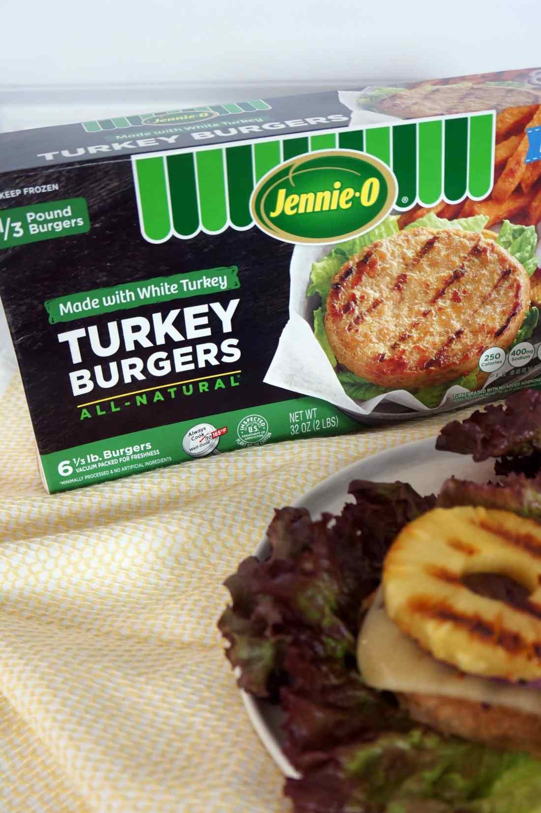 turkey burger box
