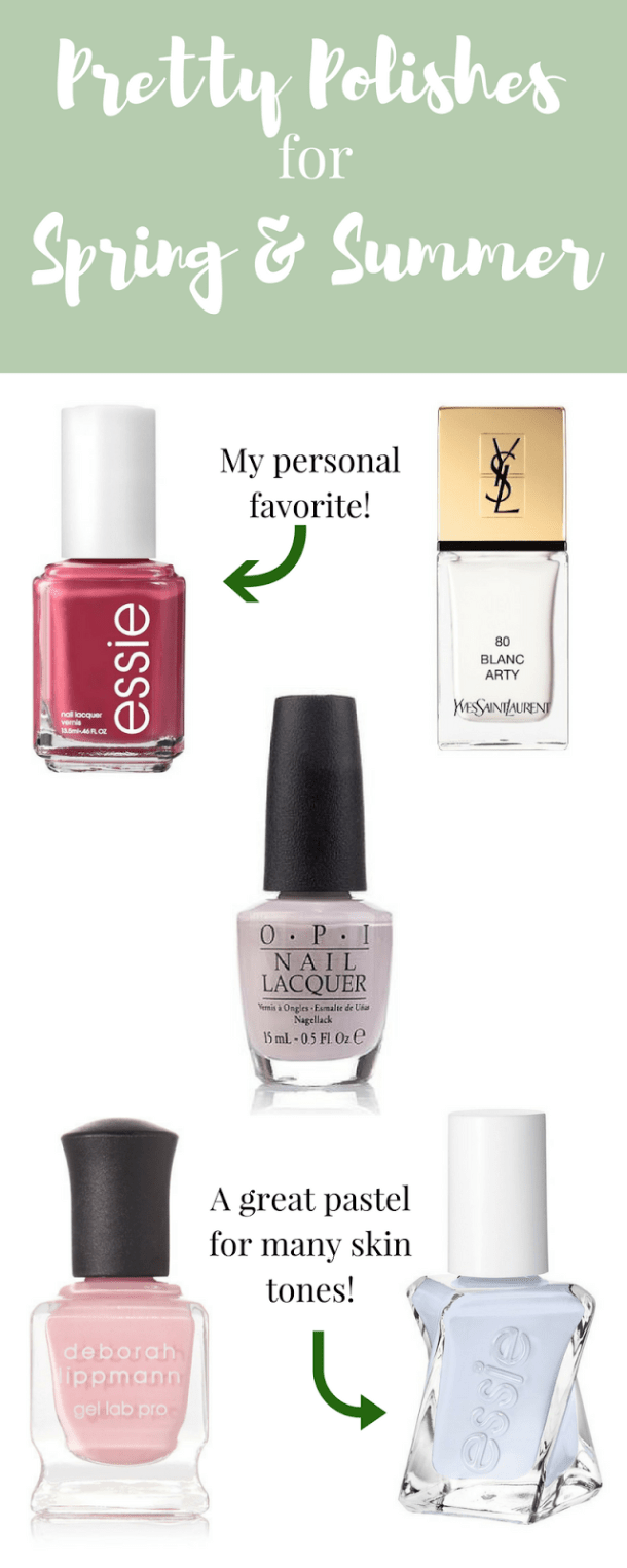 Pretty Polishes for Spring and Summer
