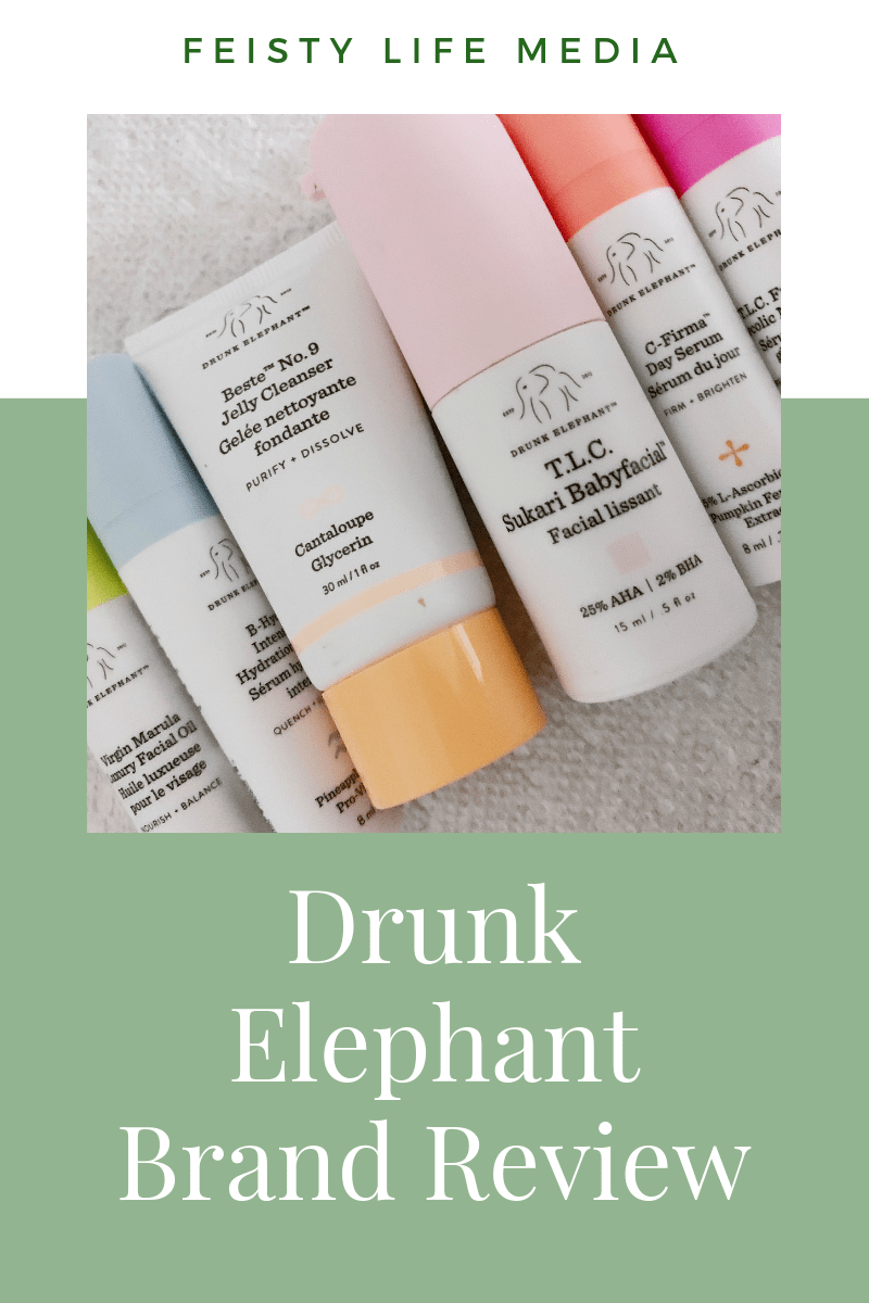 You\'ve probably heard about Drunk Elephant by now. But if you haven\'t experienced the brand for yourself you might be asking if it is worth the hype. Read this post to see which products are worth purchasing and which to pass on. #drunkelephant #skincare #review