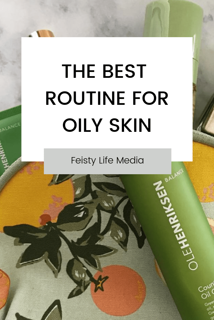 Skincare can be daunting. There are just so many different products it can be hard to know which to pick. If you have oily skin, check out this list of the best products to use in your skincare routine. #skincare #beauty #skincareroutine