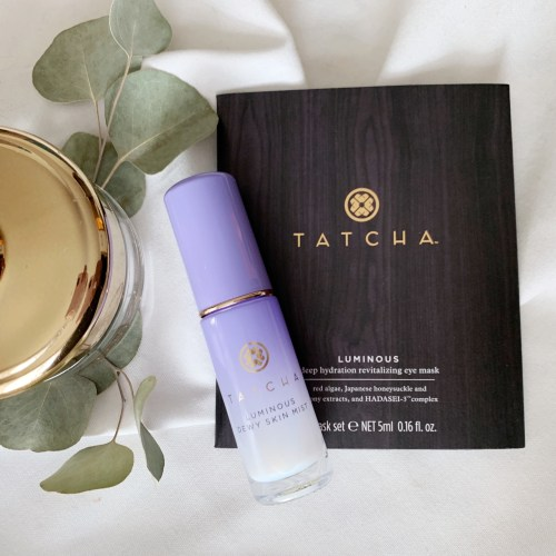 tatcha skincare products
