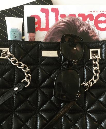 fall bag chain detail