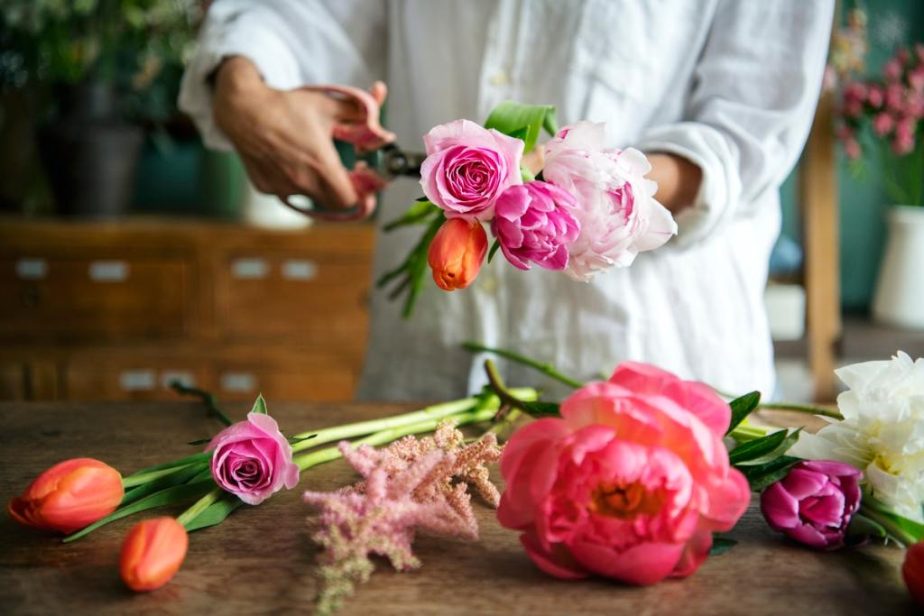 Flower Arranging Creative Hobbies