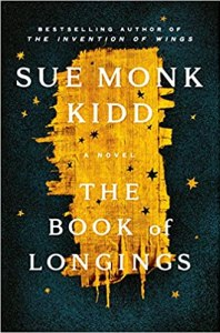 The Book of Longings is the Feisty Life Reading Club Book of the Month