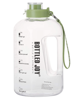 Half Gallon Water Bottle