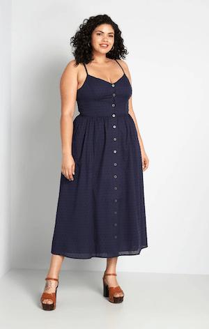 Modcloth Dress for Summer Capsule Wardrobe