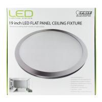 2200 Lumen 4000K 19 Inch LED Flat Panel Ceiling Fixture