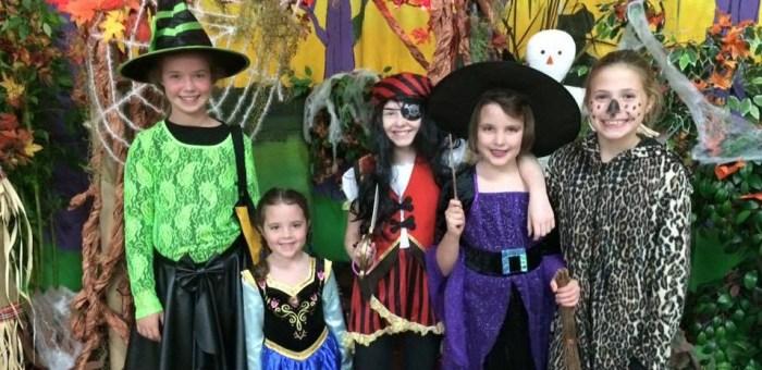 Costumed Kiddos at FELC Fall Festival