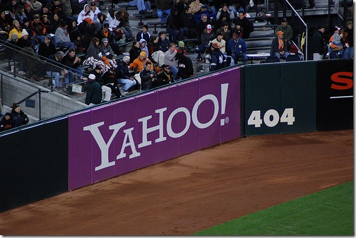 Yahoo 404