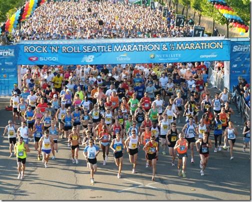 2009 Seattle Rock&Roll Marathon