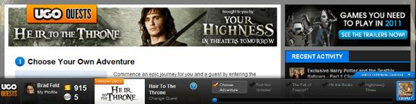 UGO YourHighness screen v2