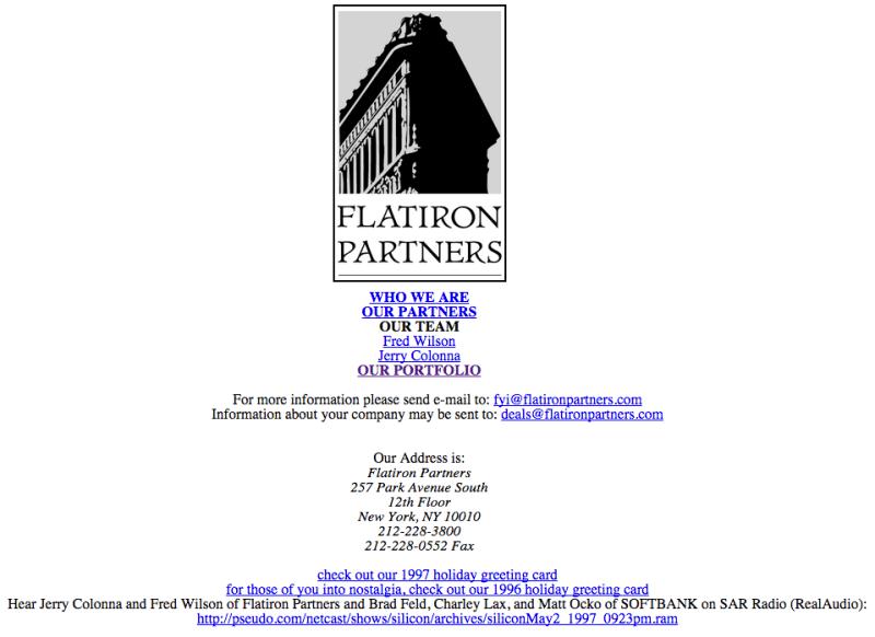 Flatiron Partners