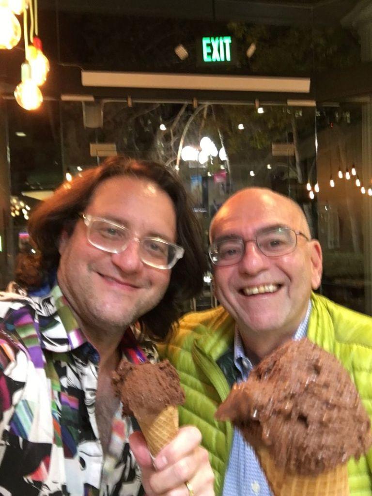 Stan Brad Chocolate Ice Cream