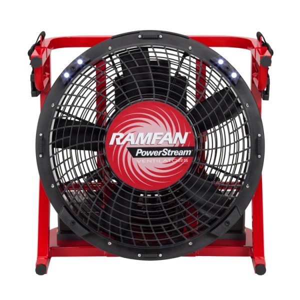 Battery Operated Heat Transfer Fan Heat Removal Fan