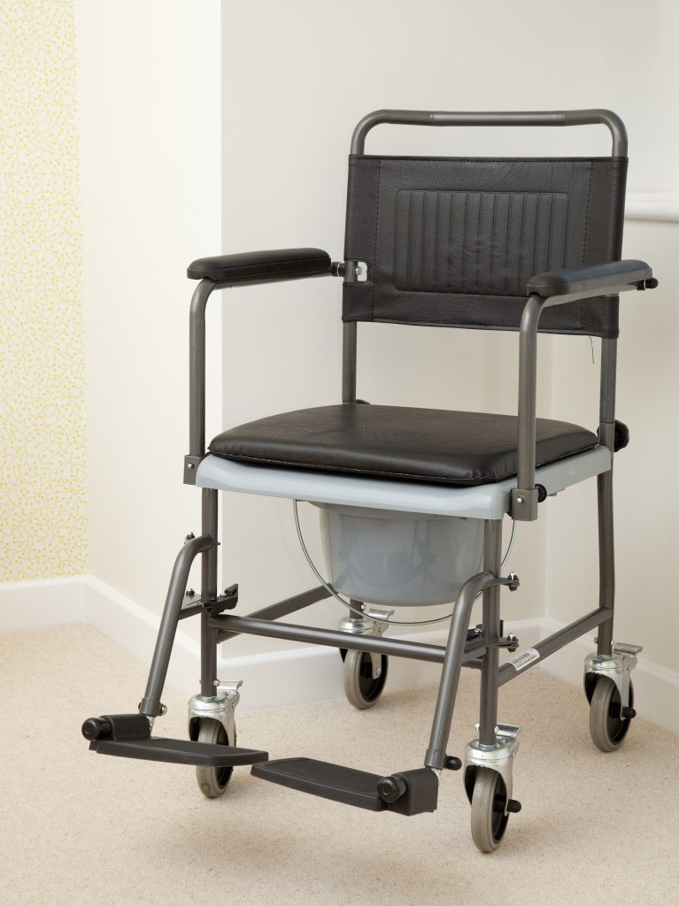 Mobile Commode Chair Felgains