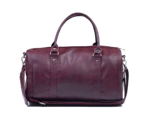 Women' Weekend Bag Nana Maroon Deep Red Bags