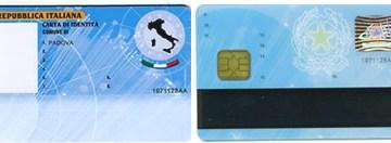 Carta d'identita elettronica fino al 2013