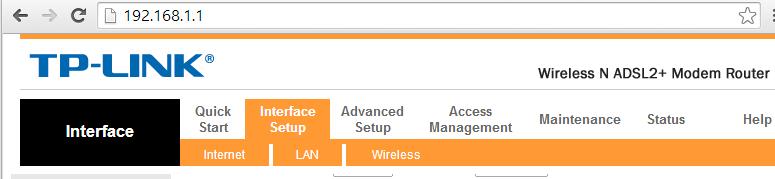 Configurazione DNS Tp-Link