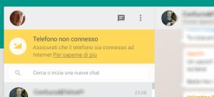 Whatsapp Connessione pc