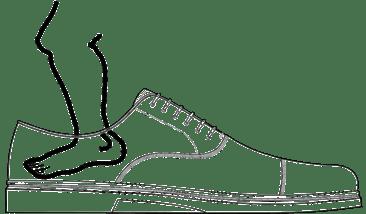 scarpa rovescio