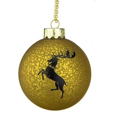 Bola de navidad de la Casa Baratheon