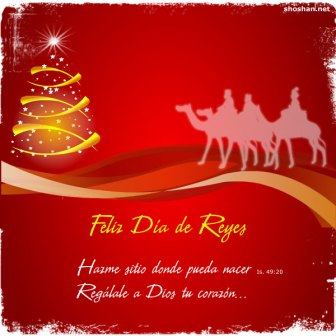 Frase feliz día de los Reyes Magos