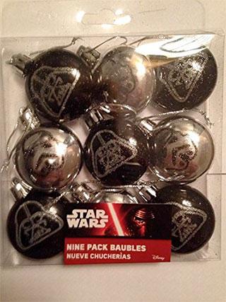 Bolas arbol de navidad Star Wars