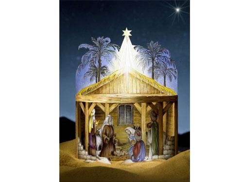Tarjeta niño Jesús