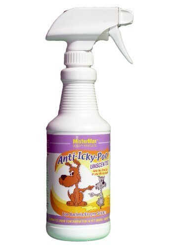 Anti-Icky Poo Unscented Urine Remover - Pint (Mister Max) Image