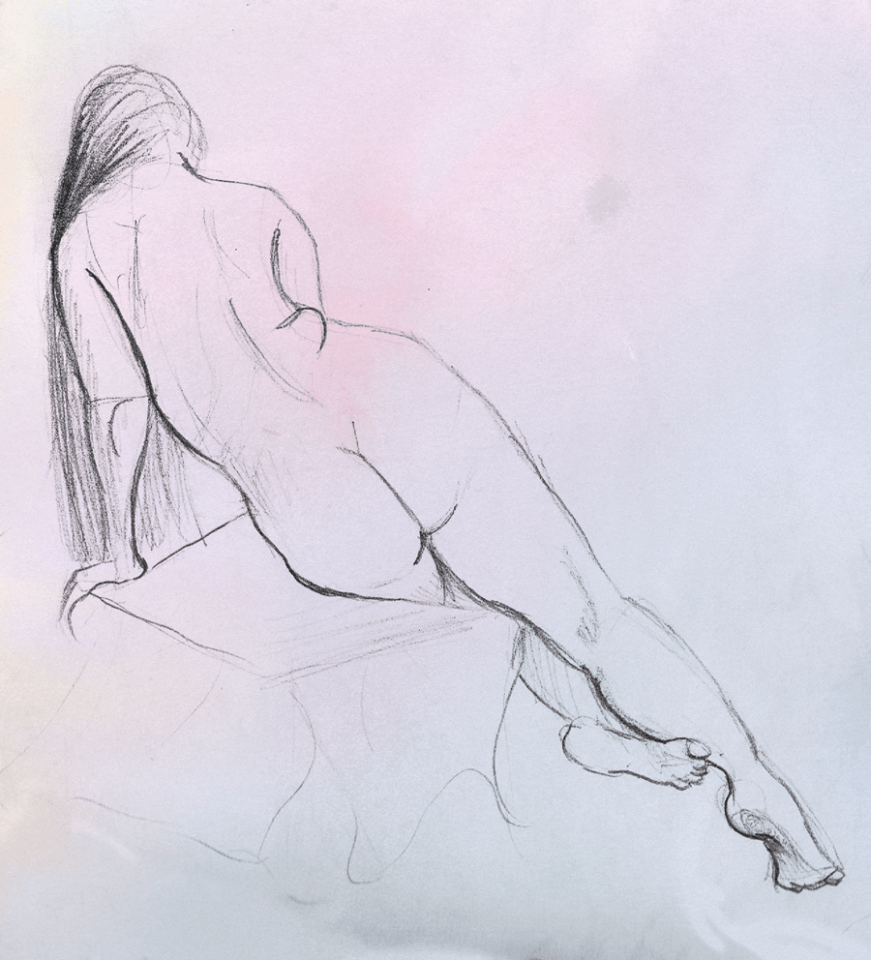Quick figure study from 2015
