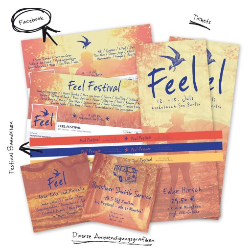 Feel Festival Grafiken By FelixDorner