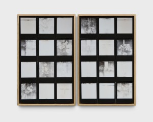 A SPELL TO WARD OFF THE DARKNESS (DEATH) 2017 polaroids 46 X 29 cm 46 X 29 cm