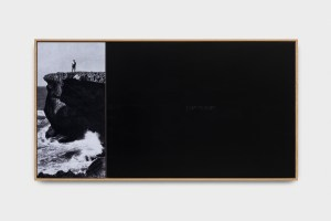 DUST TO DUST 2014 print mounted on dibond, mixed media sheet mounted on dibond 52 X 97 cm
