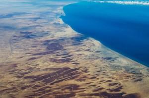 Coastline near Bengazi, Libya