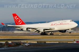 Air Cargo Germany - Boeing 747-400F