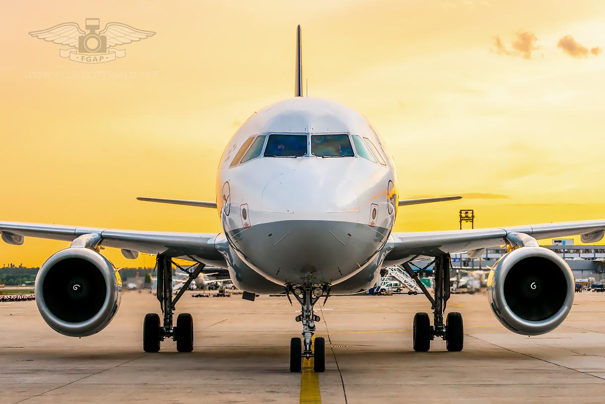 Lufthansa Airbus A320 D-AIPY